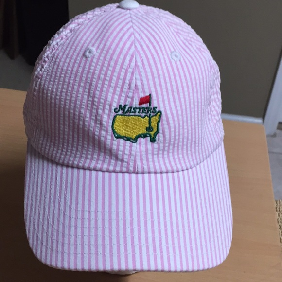 b93e9283b30 American Needle Accessories - Official masters Pink pinstripe Golf cap